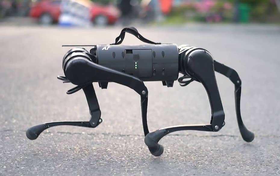 Robot cuadropedo Unitre A1